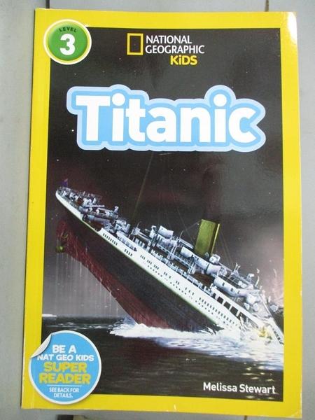 【書寶二手書T1/少年童書_YJT】Titanic_Stewart, Melissa