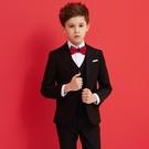 兒童西裝套裝帥氣男童花童禮服鋼琴演出服中大童小男孩西服外套秋