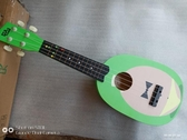 21寸夏威夷烏克麗麗木質兒童吉他四弦琴S型烏克裡裡YJT 流行花園