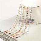 手鍊 日式輕奢滿天星手鍊女韓版簡約個性ins小眾設計鈦鋼玫瑰金閨蜜鍊 晶彩 99免運