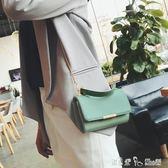 上新 小包包女2018新款潮韓版 百搭斜挎單肩錬條復古手提包小方包「潔思米」