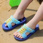 店慶優惠-兒童拖鞋夏季男童拖鞋寶寶兒童洞洞鞋