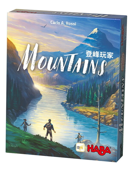 『高雄龐奇桌遊』 登峰玩家 Mountains 繁體中文版 正版桌上遊戲專賣店