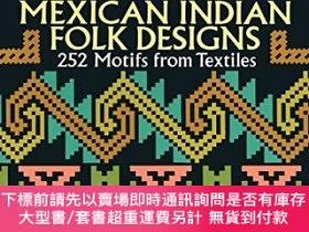二手書博民逛書店Mexican罕見Indian Folk DesignsY360448 Irmgard Weitlaner-J
