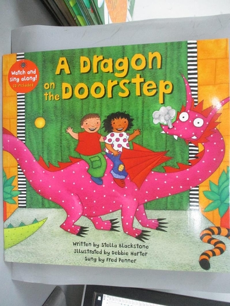 【書寶二手書T1/少年童書_KGR】A Dragon on the Doorstep_Blackstone, Stella