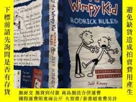 二手書博民逛書店diary罕見of a wimpy kid rodrick rules 一個懦弱的孩子的日記羅德裏克規則..,,奇