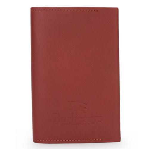 BURBERRY限量戰馬LOGO皮革五孔手帳冊(咖啡色)086065-2