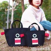 韓版飯盒袋手拎帆布袋子媽咪包女手提帶飯裝午餐便當包 生活樂事館