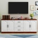 電視櫃 客廳電視柜茶幾組合現代簡約臥室電視機柜北歐小戶型家具組合套裝 ATF 蘑菇街小屋