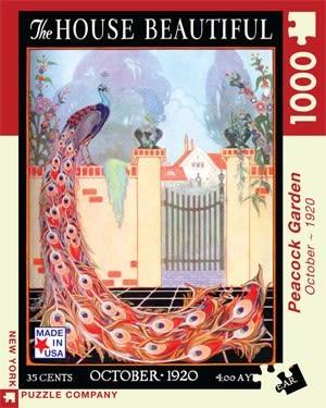 【KANGA GAMES】拼圖 孔雀園 The House Beautiful - Peacock Garden  1000片