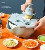 刮絲器 多功能切菜神器家用擦土豆絲切片切絲刨絲器廚房削蘿卜切丁切花機