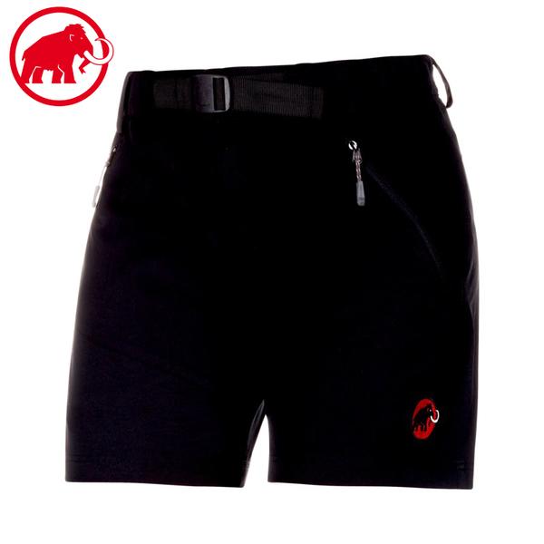 【MAMMUT 長毛象 女 Ac Trekkers 短褲《黑》】1020-11860/登山短褲/休閒短褲/排汗褲/運動褲