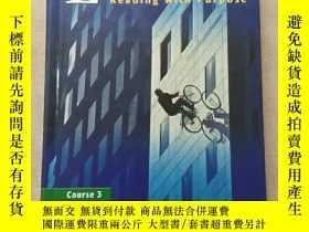 二手書博民逛書店Glencoe罕見Literature: Reading with Purpose, Course 3,( 館藏書