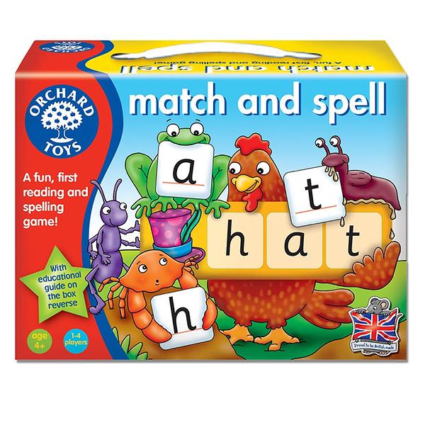 【樂桌遊】拼字讀音 MATCH AND SPELL(2014英文版) 10196