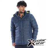 PolarStar 中性 羽絨外套 『深藍』P15213