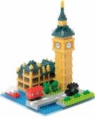 《 Nano Block 迷你積木 》【世界主題建築系列】NBH_193大笨鐘 ╭★ JOYBUS玩具百貨