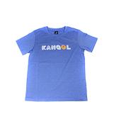 KANGOL 童裝 短袖T恤 藍色 字母設計LOGO 6126500982 noG54
