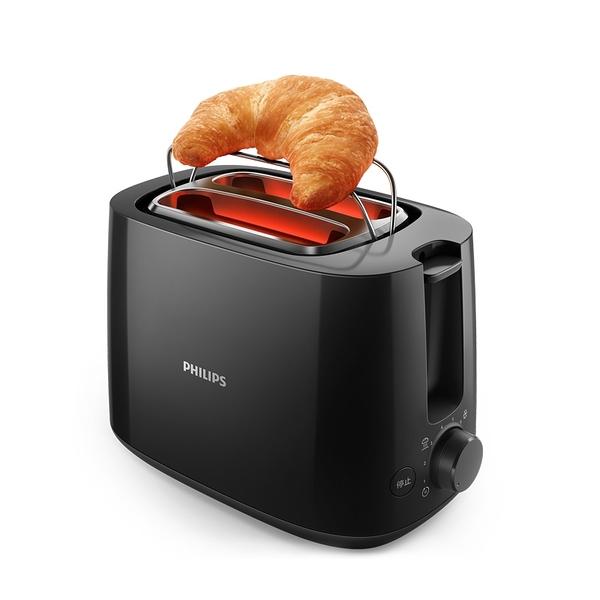 【現貨熱賣↗ 超取免運】PHILIPS HD2582 / HD-2582 飛利浦電子式智慧型厚片烤麵包機 黑色