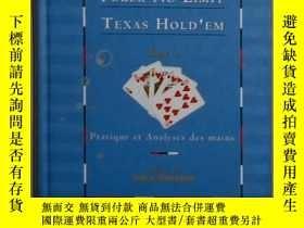 二手書博民逛書店法語原版罕見Poker No-Limit Texas Hold