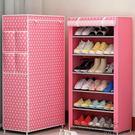 鞋架簡易多層多功能布鞋柜