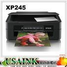 USAINK★EPSON XP-245 四合一WiFi雲端超值複合機  T364150/T364250/T364350/T364450