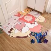 防滑墊可洗地墊廳玄關防水皮革可裁剪地毯入戶門墊腳墊【古怪舍】