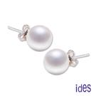 展現女人的清純優雅 簡約型珍珠耳環必備入門款 925純銀耳針與扣頭 鍍K金處理防氧化抗過敏
