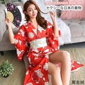 日本和服女浴袍衣cosplay日式女仆裝 叮噹百貨