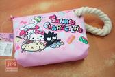 SANRIO 三麗鷗Cute 屁屁系列大布筆袋Hello Kitty 大集合粉