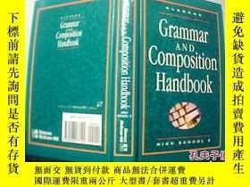 二手書博民逛書店Grammar罕見AND Composition Handbook HIGH SCHOOL 2【 8】Y186