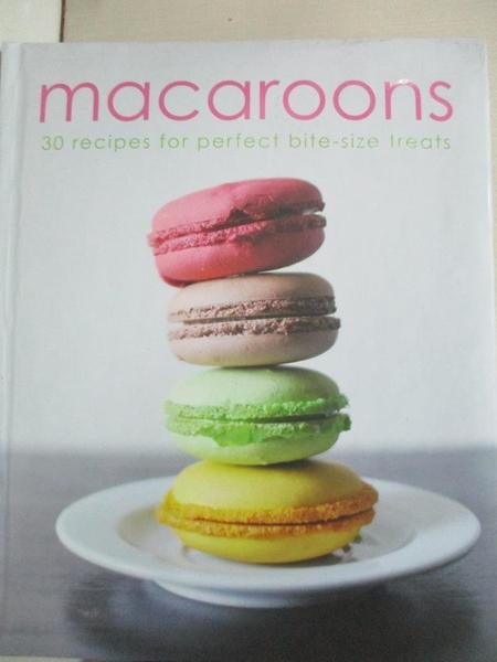 【書寶二手書T2/餐飲_DLW】Macaroons: 30 Recipes for Perfect Bite-size Treats_Parragon (COR)