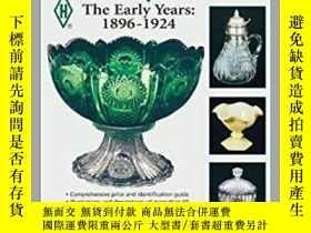 二手書博民逛書店Heisey罕見Glass- The Early Years: