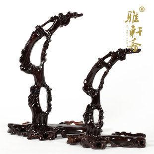 黑梓木雕刻擺件 紅木工藝品 首飾架