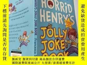 二手書博民逛書店horrid罕見henry s jolly joke book:可怕的亨利快樂的笑話書:Y200392