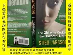 二手書博民逛書店The罕見Girl Who Kicked the Hornets Nest;STIEG LARSSON;wy;