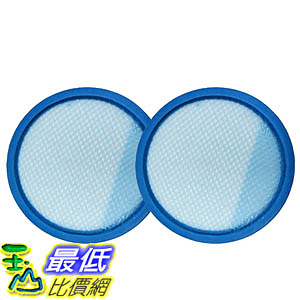 [106美國直購] 2 Washable & Reusable Filters for Hoover Air Cordless 3.0 BH50140 Vacuums 440005953