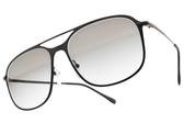 PRADA 太陽眼鏡SPS53T 1BO-0A7 (黑-棕灰鏡片) 時尚造型設計框款 # 金橘眼鏡