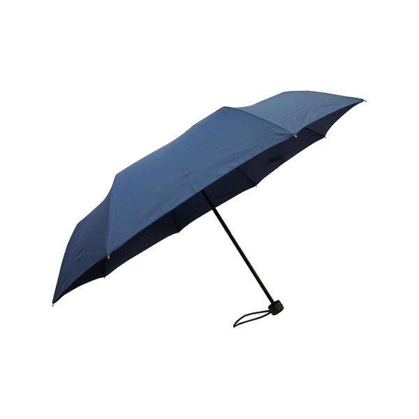 雨傘 萊登傘 防撥水 易甩乾 加大傘面三折傘 防風抗斷 不夾手 鐵氟龍 Leighton 沉穩深藍