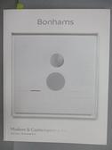 【書寶二手書T3/收藏_EZT】Bonhams_Modern&Contemporary Art_2018/11/26
