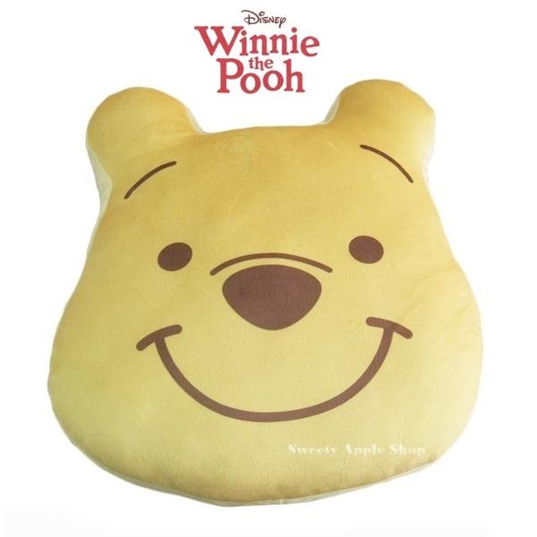 日本限定 迪士尼 小熊維尼 大臉版 抱枕玩偶
