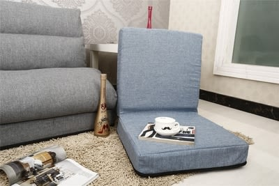 懒人沙发日式無腿折疊單人沙發