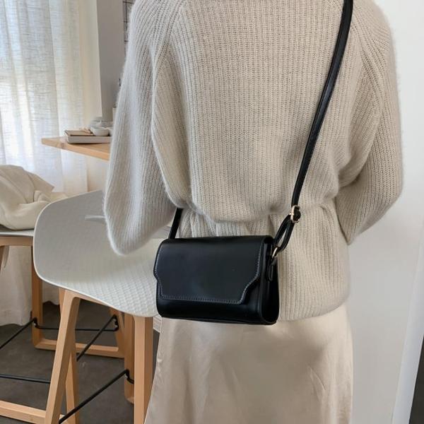 質感洋氣小包包女新款潮時尚春夏季側背包簡約復古百搭斜背