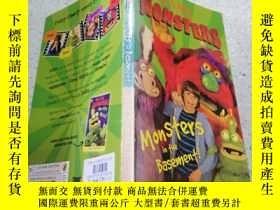 二手書博民逛書店monster罕見in the basement地下室裏的怪物Y200392
