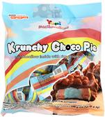【吉嘉食品】呦皮脆米巧克力棉花糖 1包108公克24入{154-6121}[#1]