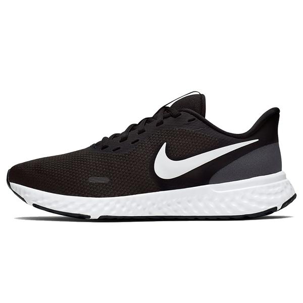 NIKE WMNS REVOLUTION 5 女款慢跑鞋 緩震 透氣 舒適 黑 BQ3207002