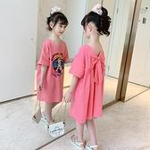 女童洋裝夏裝2021新款洋氣網紅兒童韓版爆款裙子女孩短袖公主裙12 幸福第一站