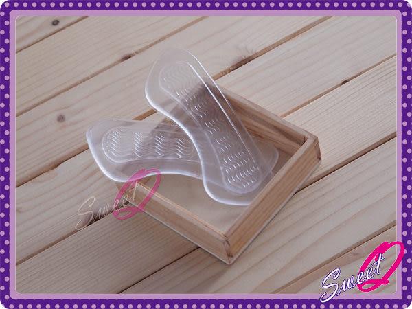 ☆韓妮小舖☆【EX1853】水紋後腳跟保護墊 隱形鞋墊 保護墊
