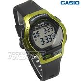 CASIO卡西歐 WS-1000H-3A 數位時代輕量型混色運動休閒電子錶 男錶 女錶 綠框 WS-1000H-3AVDF