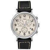 TIMEX/天美時 三眼計時 手錶/TXTW2R42800
