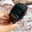 NIXON THE BASE復古經典潮流電子腕錶A107-001公司貨/名人佩戴/街頭